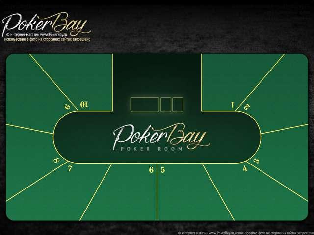 Профессиональное сукно для покерного стола c вашим логотипом или индивидуальным дизайном