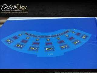 Сукно для стола - покер №31 синее