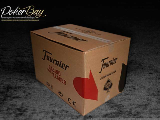 Коробка 144шт Fournier 818 «Golden Rhino»