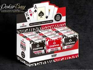 Блок Copag WSOP (12 колод)