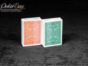 Блок Fournier 2818 (12 колод, зеленые и оранжевые)