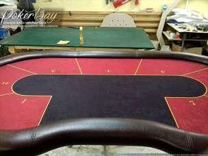 Профессиональный стол «Texas Poker 10 Стандарт» зеленый