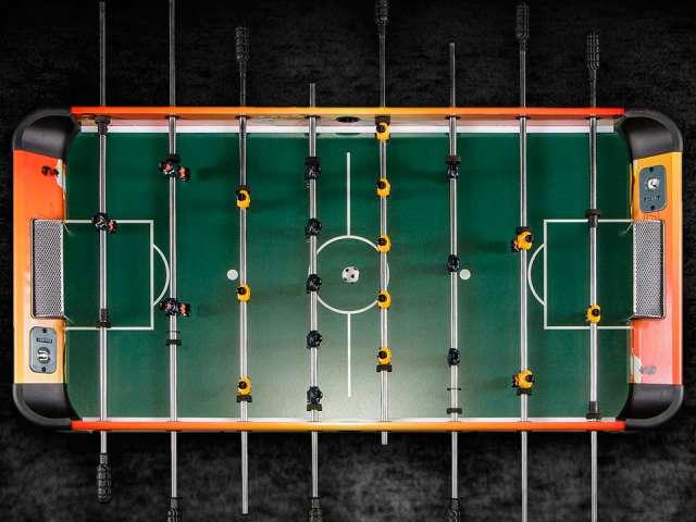 Amsterdam 120х61х84, оранжево-черный)