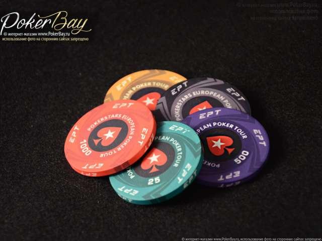 Керамическая фишка PokerStars
