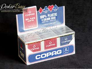 Блок Copag 4-Colour (12 колод)