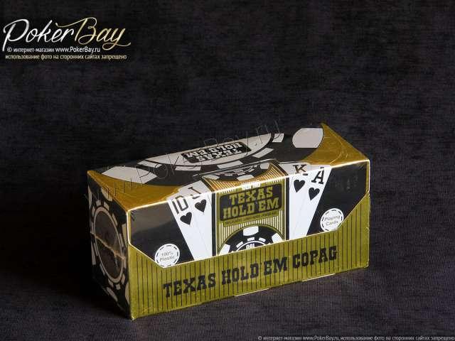 Блок Copag Texas Holdem Gold (12 колод)