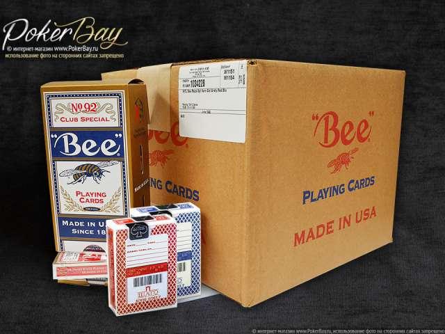 Коробка Bee для казино «Шато» (72 колоды)
