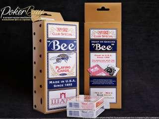 Блок Bee для казино «Шато» (12 колод)