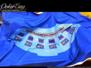 Сукно для стола - покер №30 синее
